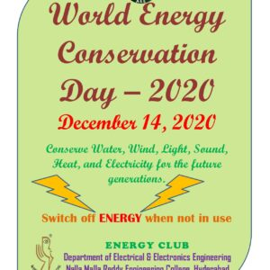World Energy Conservation Day - 14 Dec 2020